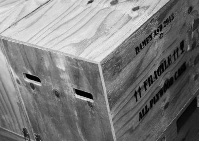 Shipping Crate for Damen Model