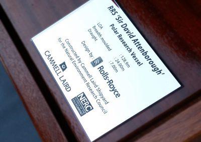UT851 Name Plaque
