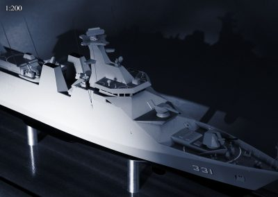 Raden Eddy Martadinata 200th Scale Frigate