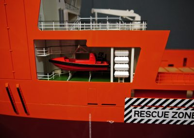 PSV 5000 Rescue Boat