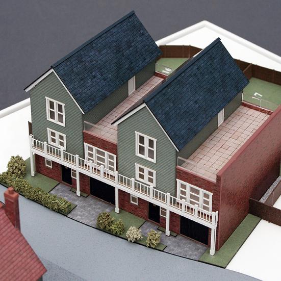 Sample Housing Model 1:150