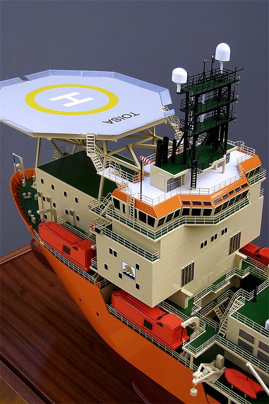 Toisa Offshore Diving Support Vessel Model