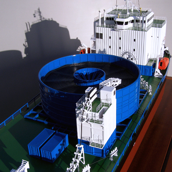 Stemat Spirit Cable Laying Vessel Model