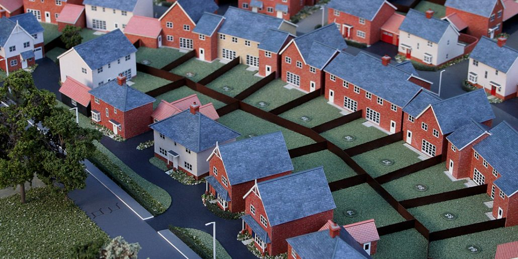 Colchester Chesterwell Architectural Development Model