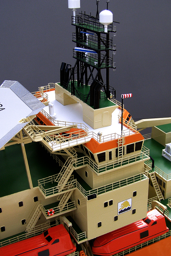 Toisa Offshore Diving Support Vessel Model Detail