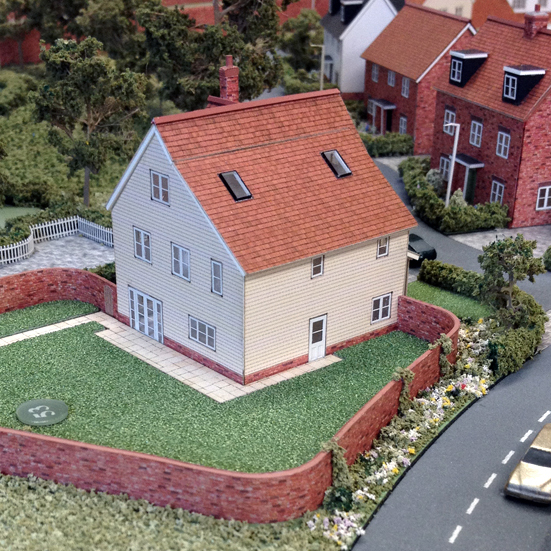 Countryside Beaulieu Heath Housing Development Model Textures