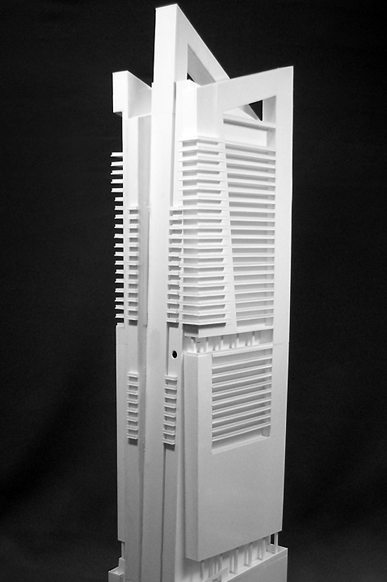 RWDI Sri Lanka Colombo Tower High Rise Architectural Model