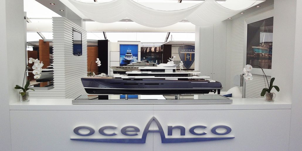 DP022 at the Abu Dhabi Yacht Show 1:50