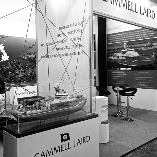 RRS Sir David Attenborough at Hamburg SMM 1:100