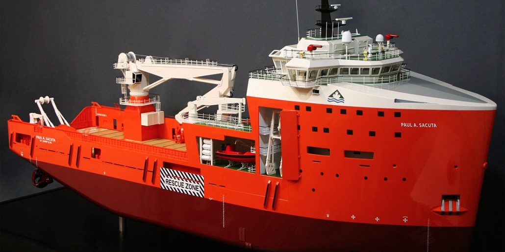 Platform Supply Vessel 5000 IRM 1:75