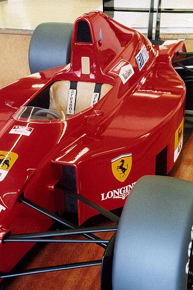 Ferrari 640 F1 Car