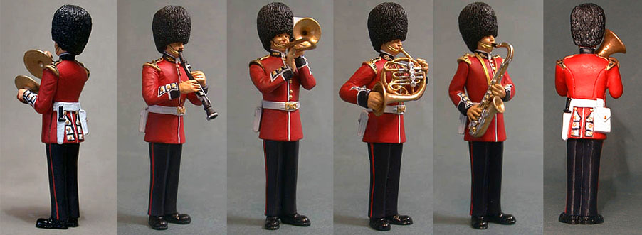 Trooping the Colour Figures with Instruments