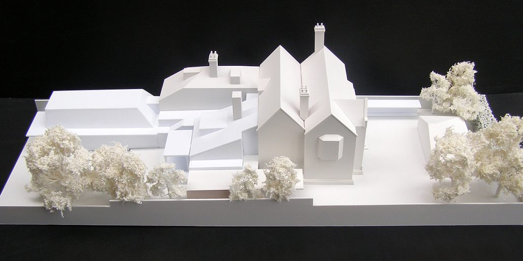 Belvoir Terrace Concept Model for House Extension