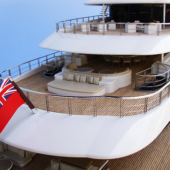 Yacht Railing Detail 1:50