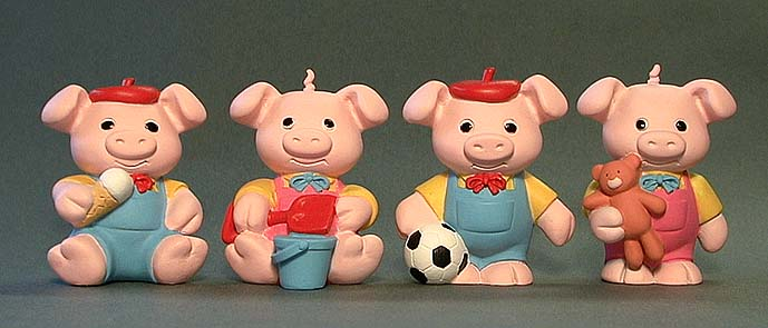Pinky and Perky Sculpts