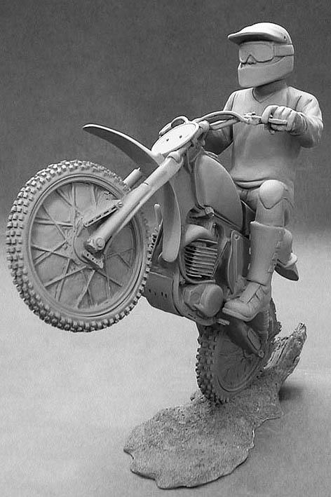 Motor Bike Figure