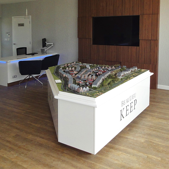 Beaulieu Keep Residential Development Marketing Suite Model 1:200