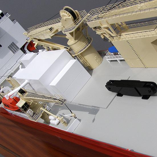 Merwede Diving Support Vessel Model