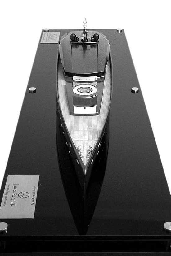 James Ratcliffe Yacht Concept 1:100