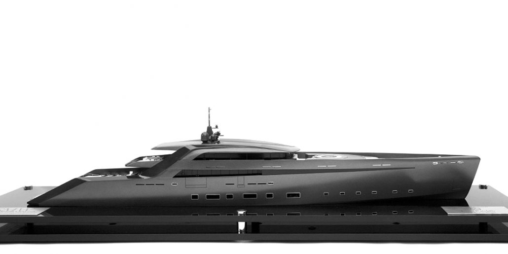 James Ratcliffe Yacht Concept 1:100