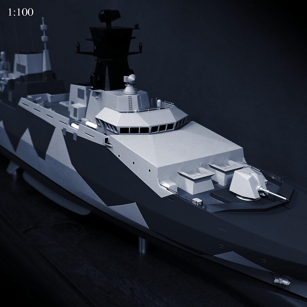 Cammell Laird Type 31e Frigate 100th Scale Navy Model