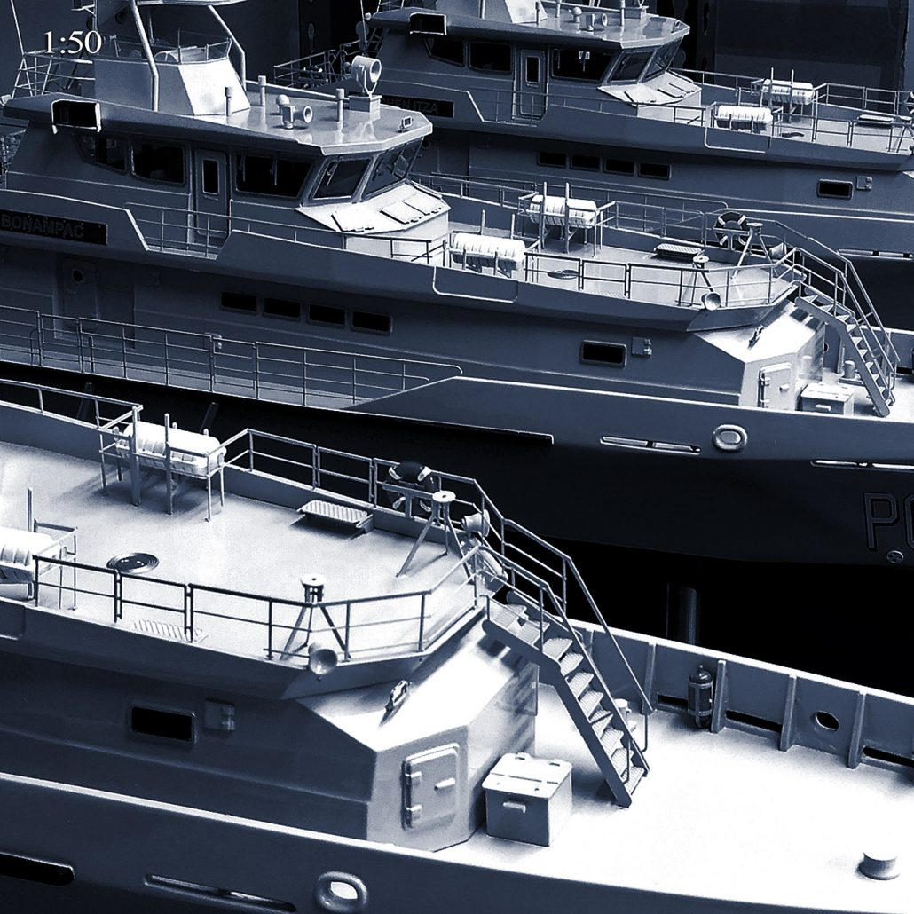 Damen Schelde Naval Stan Patrol 4207 50th Scale Military Marine Model Multiples